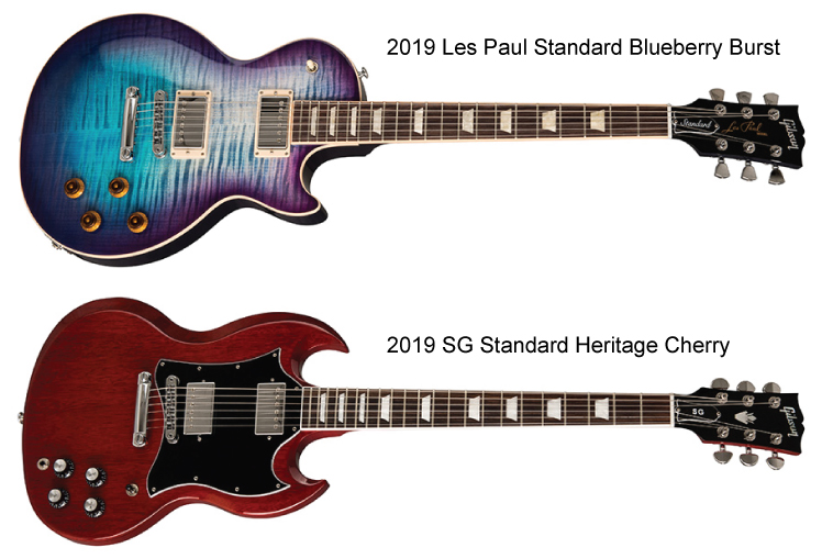 The Common Heritage of the Les Paul and SG Models - the